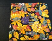 10 Falling Leaves Napkins, Colorful, Autumn, Thanksgiving, Fall,  Dining, Entertain, Eco Friendly