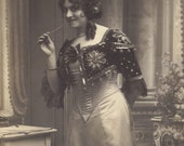Mlle. Lina Dilson 1, Operatic Soprano, in the Barber of Seville, circa 1910
