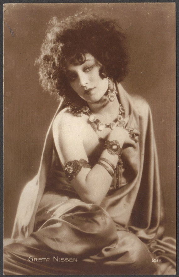 Greta Nissen, Norwegian /American Dancer and Film Star, circa 1920s