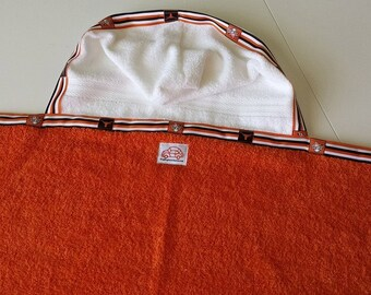 Texas Longhorn Hooded Towel