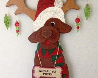 DEBI39;S DOINGS PATTERN  Christm as Wood Craft Pattern quot;Santa39;s L