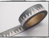 Festive Tree Washi tape 15mm x 10m  WT511