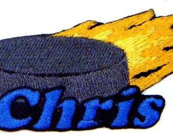 Hockey Custom Personalized Iron-on Patch