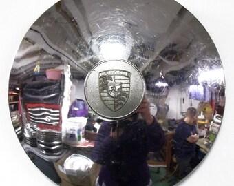Vintage Porsche Hubcap Hub Cap - Automotive Part - Car Part - SALE - Father's Day Gift