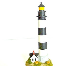 Bodie Island Lighthouse, vintage replica, North Carolina, Outer Banks, 1993 collectible NC souvenir
