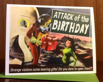 Attack of the Birthday Card