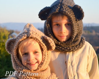 Hooded Scarf New 580 Free Child S Hooded Scarf Knitting Pattern