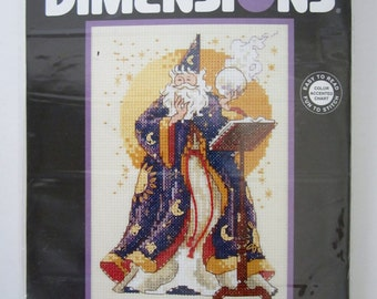 Dimensions THE SORCERER Counted Cross Stitch Kit 6689