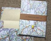 Europe Envelopes & Notecard Set - Maps - Set of 5