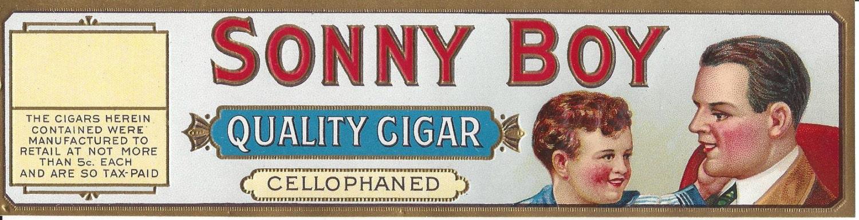 Vintage sonny boy bottle