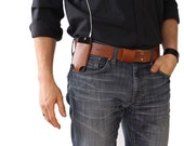 Iphone belt holder - Tan