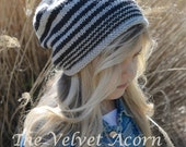 KNITTING PATTERN-The Zaire Slouchy (Toddler, Child, Adult sizes)