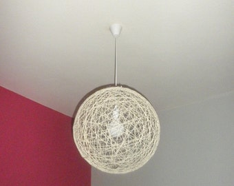 Brown string shadow lamp Pendant light globe pendant lamp