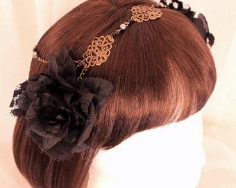Gothic Art Nouveau Headress