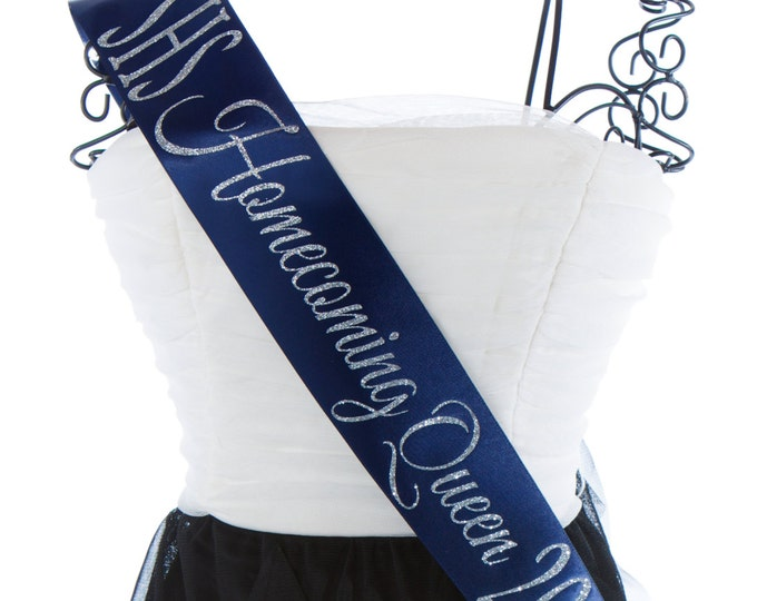 Homecoming Queen Sash Custom Colors