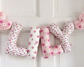 LILY - Personalized Baby name wall decor, kids nursery decor. New baby girl Christening gift, baby shower gift, Personalized birthday gift