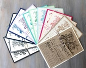 Floral Bridal Shower Invitations, Bridal Wedding Shower Cards - 12 Colors To Choose From, Only 3.00/each - Deposit
