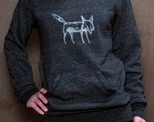 clever me Fox sweatshirt, Fox Sweater, Yoga Pullover, S,M,L,XL
