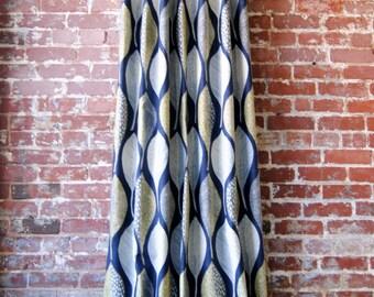 "84""L Woodblock Leaf Panel"