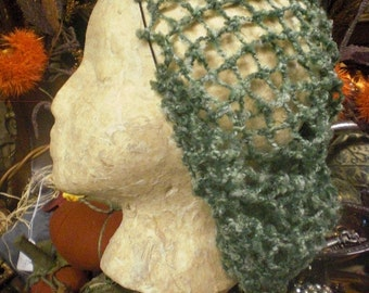 Green Snood Hair Net