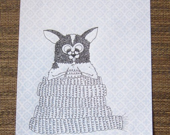 Minnie Knitting