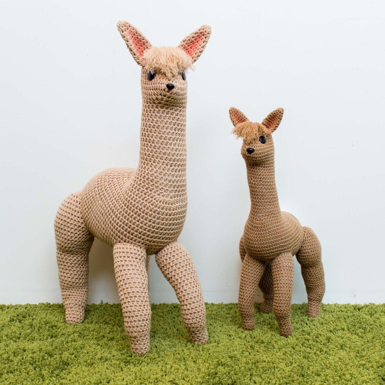 Alpaca Amigurumi Crochet Patterns : Crochet Alpaca Pattern Amigurumi Pattern Crochet Toy