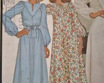 Vintage 1976 McCall's Hippie Era Boho Gathered Yoked Dress 5916 Sewing Pattern Size XLarge 22 - 24