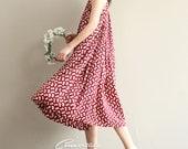 summer sundress / oversize dress / tunic dress / shirt dress / loose fit dress / casual loose dress summer dress
