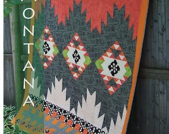 iQuilt Modern - Modern Montana Quilt Pattern