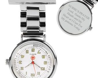 A Nurse's Prayer Nurse's Fob Watch (GW159) EY18
