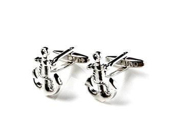 Sailor Cufflinks - Groomsmen Gift - Men's Jewelry - Gift Box Included