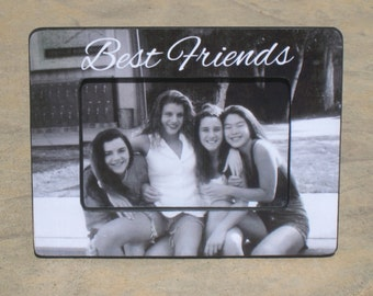 Personalized Best Friends Gift, Graduation Frame, Maid of Honor Picture Frame, Unique Bridesmaid Gift, Sister Gift, Custom Wedding Frame