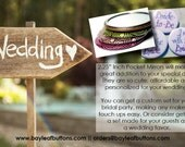 20 Custom Pocket Mirrors 2.25 inch - Personalized - Weddings - Favors - Bridesmaids