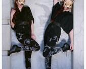 SALE - Dragonfly LOTUS Leggings - YOGA Original Art Legging by Carousel INk - Womens Leggings - Tights