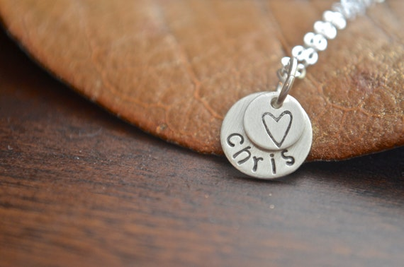 Dainty Stacked Necklace | In Memory | Pet Memorial Necklace | Heart Paw Star | Name Necklace