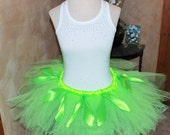 Tinker bell Fairy Inspired Disney Movie Peter Pan Princess Design Adult Childs Running Marathon Tutu Skirt Birthday Party Costume Skirt