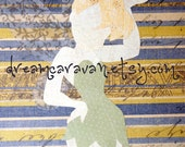 TINKERBELL - Ready to Ship Neverland Fairy Paper Pixie Art