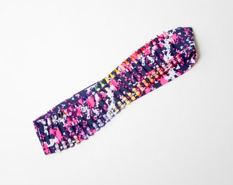 SALE - Kids Crayon Bandolier | Pink and Navy Camo