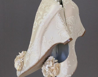 wedding shoes wedding wedges ivory wedding shoes ivory lace wedge shoes ivory