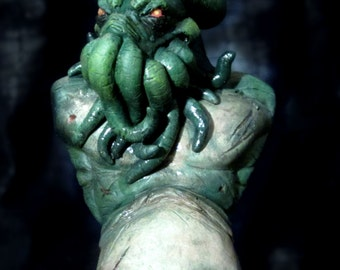 Cthulhu Resin Mini Bust (Painted)