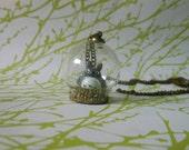 Totoro Terrarium Globe Necklace