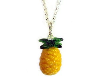 CLEARANCE 50% OFF - Pineapple Necklace