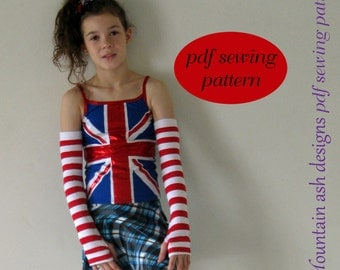 Singlet Tops pattern pdf sewing pattern girls sizes 2-14 years