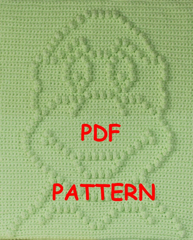 Ninja Turtle Crochet Blanket Pattern Ninja Turtle Baby Blanket