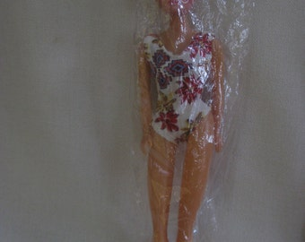 Vintage MOD Sixties Doll in Plastic