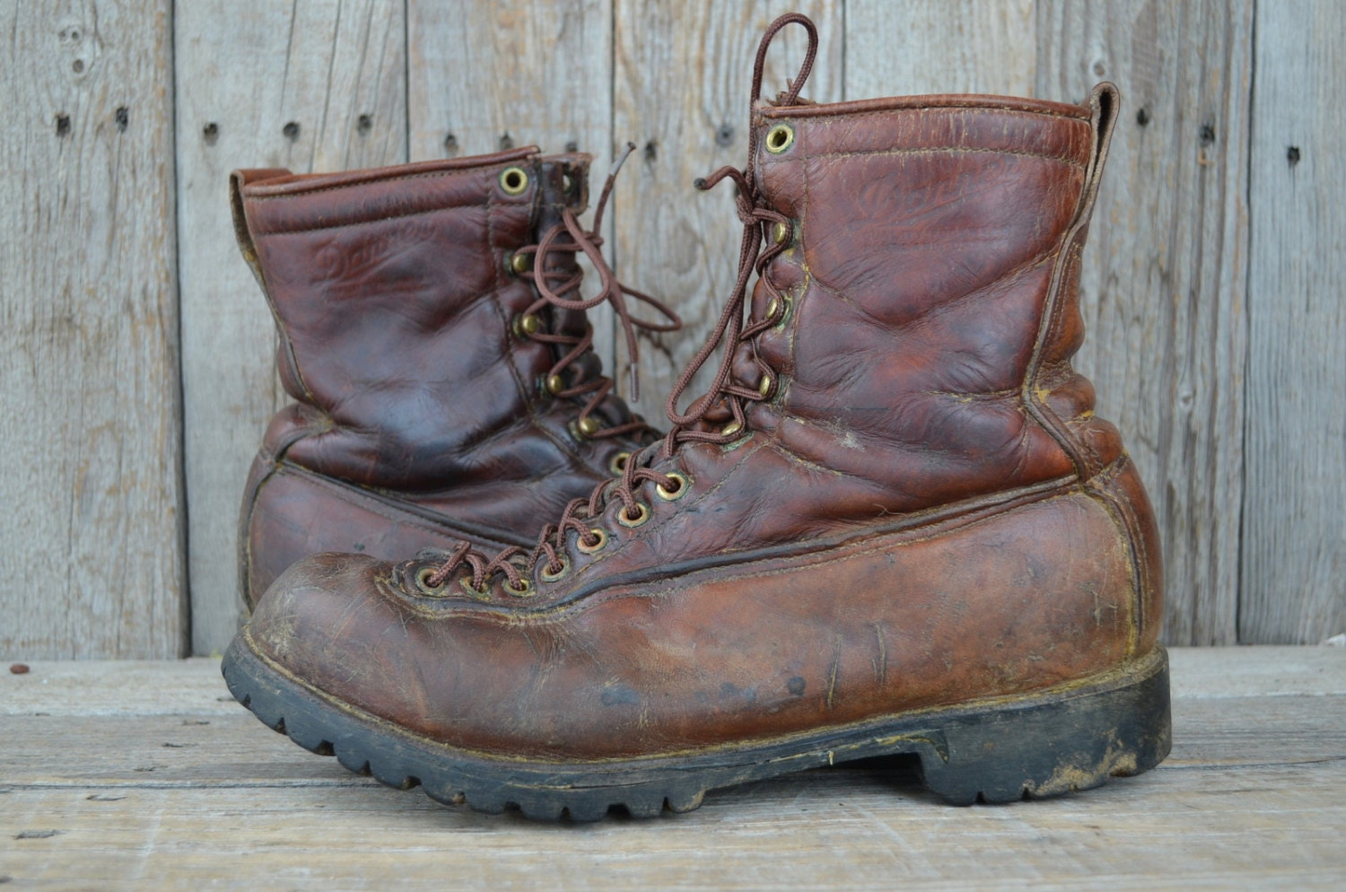 Vintage Danner Lace To Toe Mountaineer Hiking Monkey Work