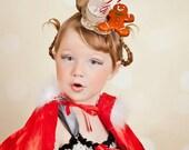 Cindy Lou Who Headpiece - Pageant Headpiece - Dr. Seuss Headpiece - Ugly Sweater Headpiece - Pageant wear - Teacup Headband - Halloween
