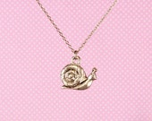 "Snail 18"" Charm Necklace"