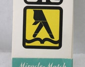 Vintage GE Collectible Advertising Miracle Match Mending Sewing Kit Circa 1964