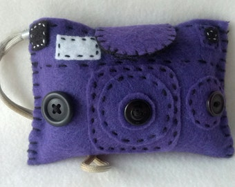 Purple Camera Cozy